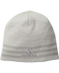 123a9afe20d83 adidas - Eclipse Reversible Ii Beanie (white clear Grey light Onix white