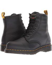 Dr. Martens - Maple Steel Toe Zip (teak Industrial Bear) Women's Work Boots - Lyst