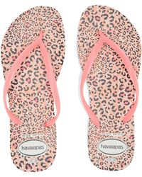 fde523aabfb6 Havaianas - Slim Animals Flip Flops (beige rose Gold 2) Women s Sandals -