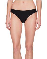 Nike - Ribbed Bikini Bottom (black) Women's Swimwear - Lyst