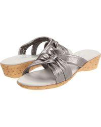 c93d1d6cf4 Onex - Sail (cork) Women's Wedge Shoes - Lyst