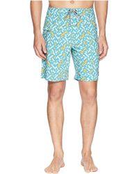 Captain Fin - Maize Daze Boardshorts (aqua) Men's Swimwear - Lyst