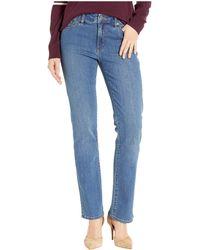 Lauren by Ralph Lauren - Premier Straight Jeans (ocean Blue Wash) Women's Jeans - Lyst