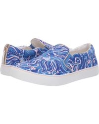 51867c52d3 Lilly Pulitzer - Julie Sneaker (hibiscus Pin) Women s Slip On Shoes - Lyst