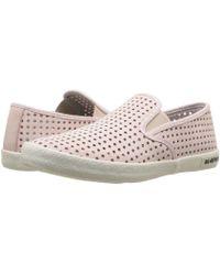 Seavees - Baja Slip-on Portal (rose Quartz) Women's Slip On Shoes - Lyst