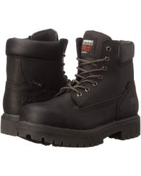 Timberland - Direct Attach 6 Steel Toe (after Dark Full-grain Leather) Men's Work Lace-up Boots - Lyst