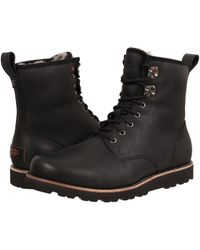 5f775c7a8de Lyst - UGG Selwood Leather Boots in Brown for Men