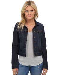 Mavi Jeans - Samantha Denim Jacket In Dark Nolita - Lyst