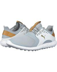ac80e8e2381 PUMA - Ignite Power Sport (puma Black puma Silver) Men s Golf Shoes -