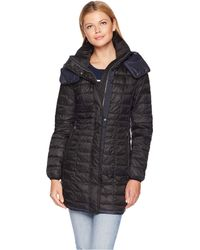 Marc New York - Marble Packable Puffer With Detachable Hood (putty) Women's Coat - Lyst