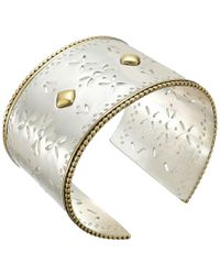 Lucky Brand - Statement Cuff Bracelet (two-tone) Bracelet - Lyst