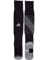 wholesale dealer 46843 c0dcf adidas - Team Speed Ii Soccer Otc Sock (white black light Onix)