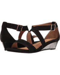Söfft - Innis (platino Rasputin) Women's Wedge Shoes - Lyst
