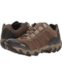 Obōz - Bridger Low Bdry (walnut) Women's Shoes - Lyst