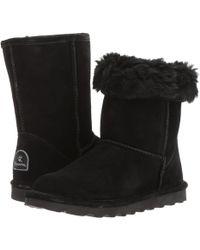 BEARPAW - Elle Short (bordeaux) Women's Shoes - Lyst