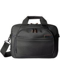 Samsonite - Pro 4 Dlx 15.6 Laptop Slim Brief (black) Briefcase Bags - Lyst