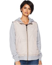 RVCA - Eternal Quilted Fleece Jacket (pavement) Women's Sweatshirt - Lyst