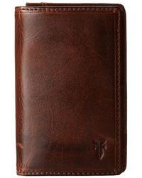 Frye - Logan Small Wallet (cognac Antique) Wallet Handbags - Lyst