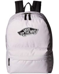 be06ab4d552 Vans Checkerboard Backpack in Pink - Lyst