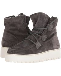 Kennel & Schmenger - Hike Faux Fur Boot (anthracite Suede) Women's Boots - Lyst