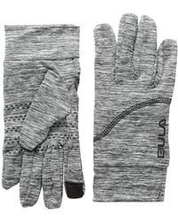 Bula - Vega Gloves (heather Medium Grey) Liner Gloves - Lyst