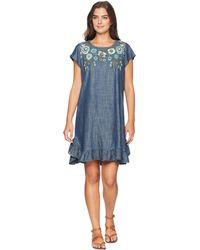 Double D Ranchwear - Kudzoo Dress (dark Denim) Women's Dress - Lyst