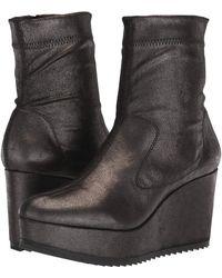 Pedro Garcia - Urika (black Lurex Stretch) Women's Zip Boots - Lyst