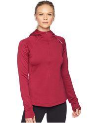 Brooks - Notch Thermal Hoodie (navy) Women's Sweatshirt - Lyst