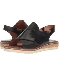 Pikolinos - Alcudia W1l-0502 (black) Women's Sling Back Shoes - Lyst