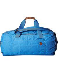 Fjallraven - Duffel No.6 Medium (un Blue) Bags - Lyst