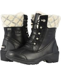 Sorel - Whistler Leather Mid Block Heel Boots - Lyst