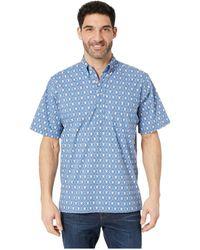 c8623bdcdff Reyn Spooner - Royal Honu Classic Fit Popover Hawaiian Shirt (true Navy)  Men s Clothing