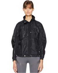 7d925974534a adidas By Stella McCartney - Run Wind Jacket Cz9721 (black) Women s Coat -  Lyst
