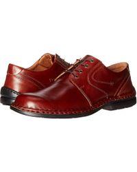 Josef Seibel - Walt (roma Brandy) Men's Lace Up Casual Shoes - Lyst