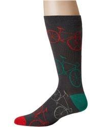 Socksmith - Fixie (charcoal) Men's Crew Cut Socks Shoes - Lyst