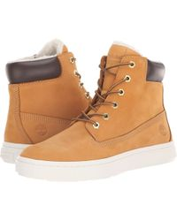 34d035c0aa46 Timberland - Londyn Warm Lined 6 (wheat Nubuck) Women s Lace-up Boots -