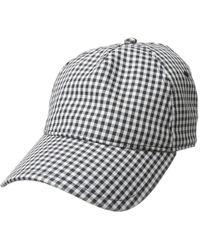 4e732cafb93 Rag   Bone - Marilyn Baseball Cap (navy natural Stripe) Baseball Caps -