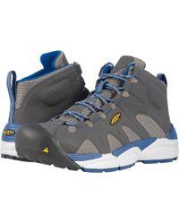 Keen Utility - San Antonio Aluminum Toe (gargoyle/blue Opal) Men's Work Boots - Lyst
