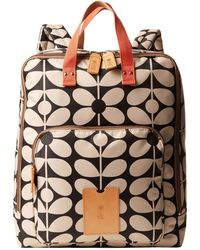 Orla Kiely - Sixties Stem Nylon Luggage Large Rucksack - Lyst