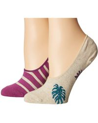 Richer Poorer - Paradiso No Show 2-pack (oatmeal) Women's No Show Socks Shoes - Lyst
