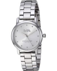 COACH - Grand - 14503001 (silver White) Watches - Lyst