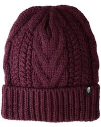 The North Face - Cable Minna Beanie (fig) Beanies - Lyst
