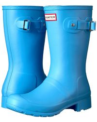 HUNTER - Original Tour Short Rain Boots - Lyst