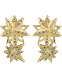 House of Harlow 1960 - Star Cluster Earrings (gold) Earring - Lyst
