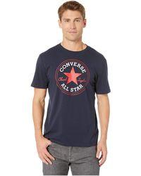 204298d8a17e Converse - Chuck Patch Tee (vintage Grey Heather 2) Men s Short Sleeve  Pullover -