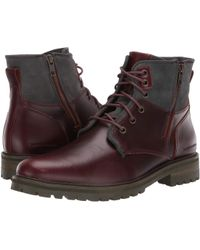 fa3d0a3221e Mark Nason - Briggs (wine) Men s Lace-up Boots - Lyst