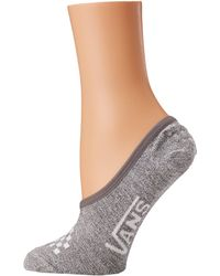b7ab83057802 Vans - Basic Canoodle 3-pair Pack (heather Grey white) Women s No