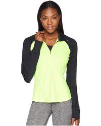 Brooks - Nightlife Dash 1/2 Zip (black/nightlife) Women's Long Sleeve Pullover - Lyst