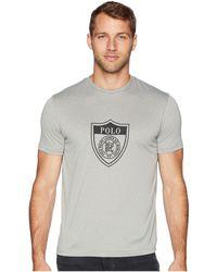 Polo Ralph Lauren - Active Fit Performance T-shirt (andover Heather) Men s T 190fbe7f9d3