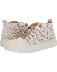 Blackstone - Mid Perf Sneaker (limestone) Women's Lace Up Casual Shoes - Lyst